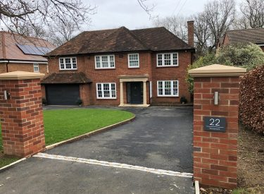 Large extension & remodelling in Gerrards Cross